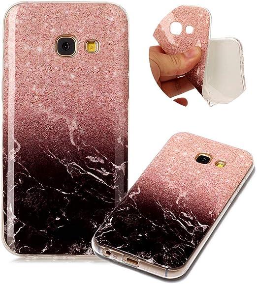 MOIKY Imprimé coloré en marbre Patterns Coque pour Samsung ...