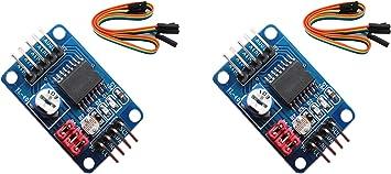 2pcs PCF8591 AD//DA Converter Module Analog To Digital Conversion Cable