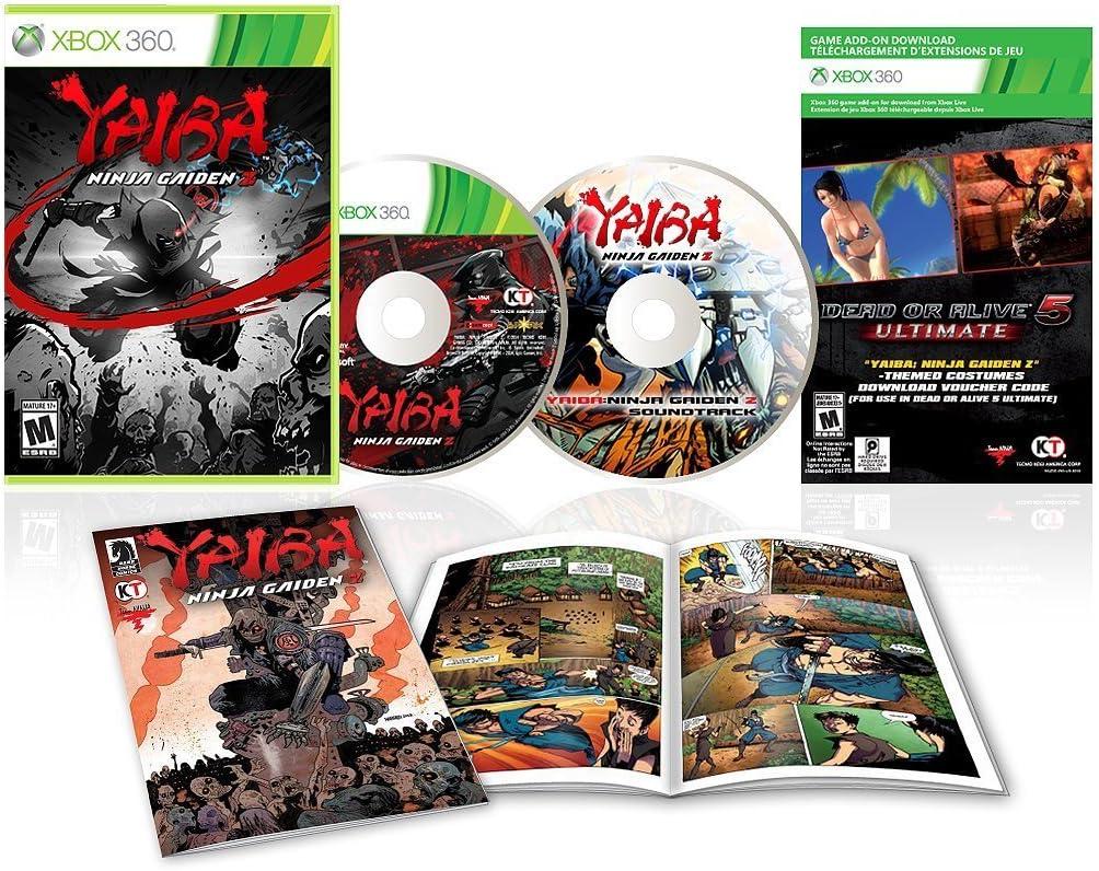 Amazon.com: YAIBA: NINJA GAIDEN Z Special Edition: Video Games