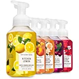 Bath and Body Works FRESH AND BRIGHT Foaming Hand Soaps - Set of 5 Gentle Foaming Soaps