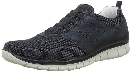 IGI&CO UBN 11162, Sneaker Uomo, Blu (Blu Scuro/Blu), 43 EU