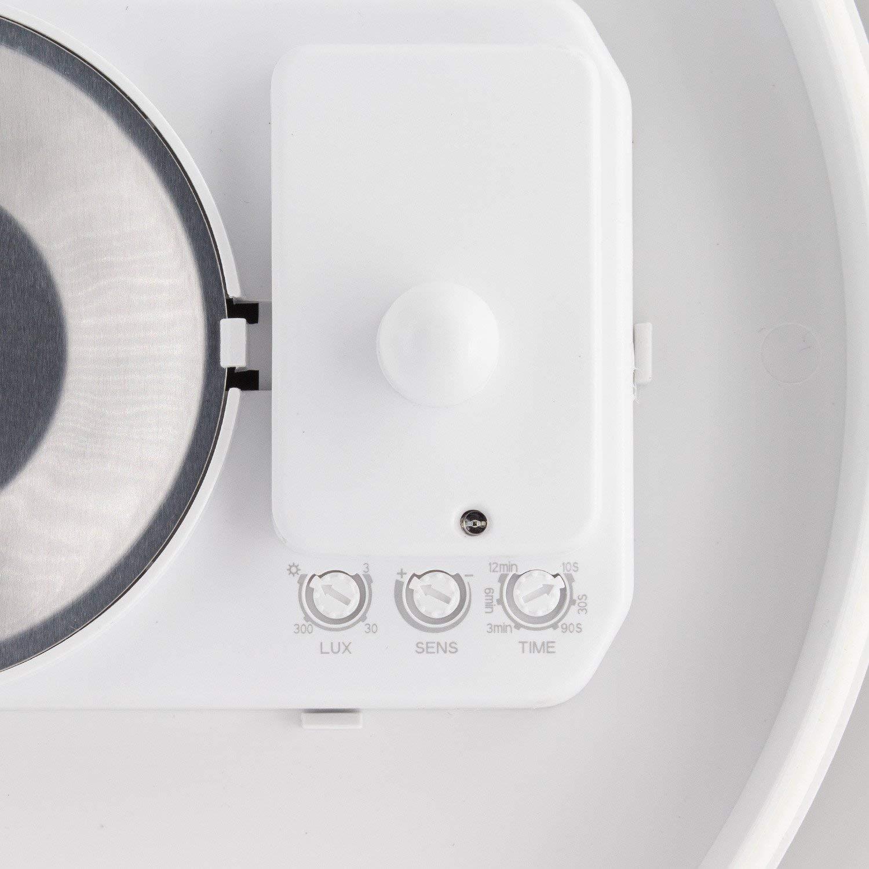 Plafón LED E27 con Detector de Movimiento Radar efectoLED: Amazon.es: Iluminación