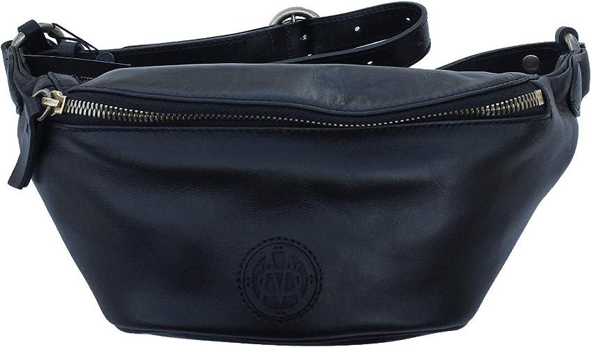Massimo Dutti 6905/604 - Riñonera para mujer (piel de napa), color negro: Amazon.es: Zapatos y complementos