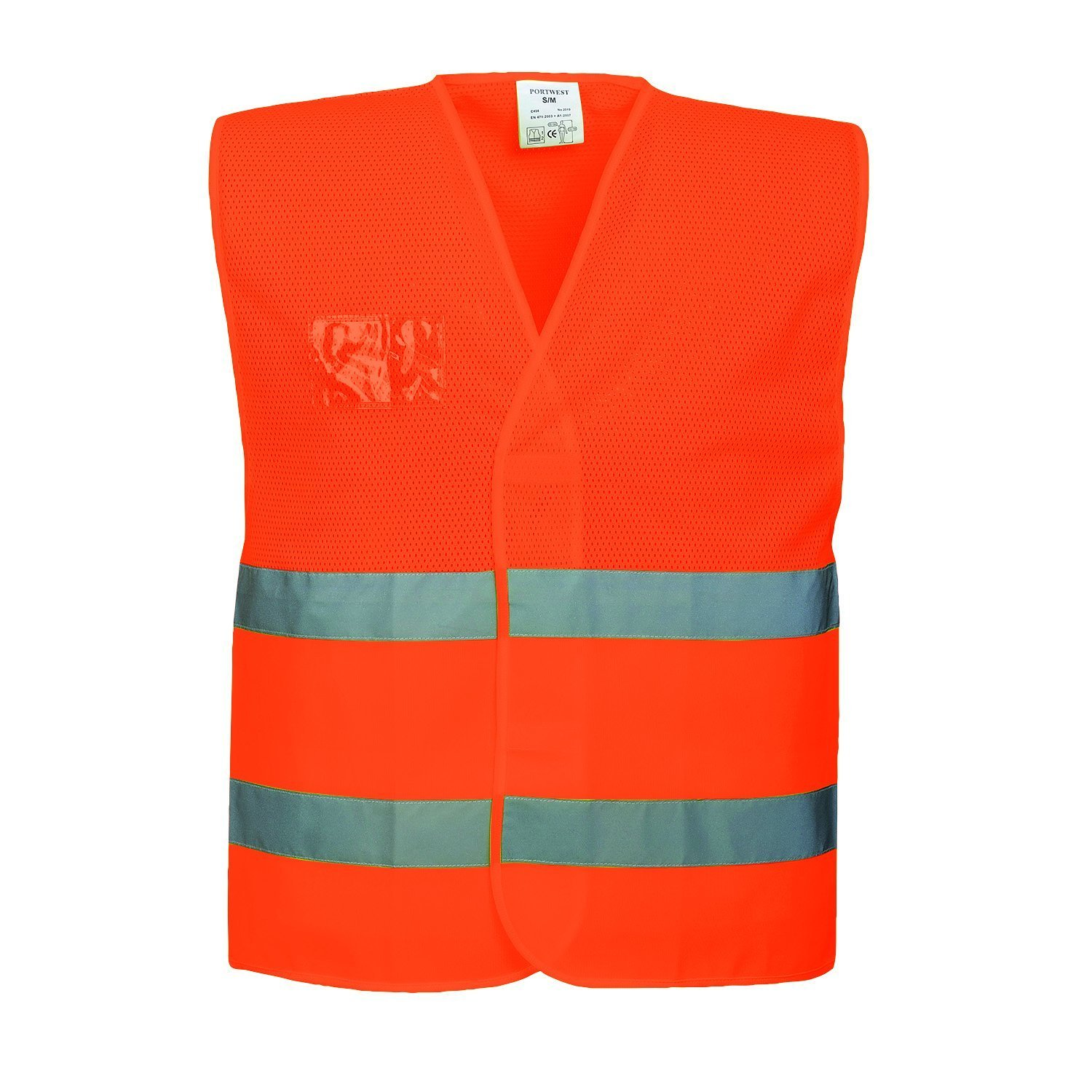 Yellow XX-Large//3X-Large Portwest C494YERXX//3X Hi-Vis Mesh Vest Regular
