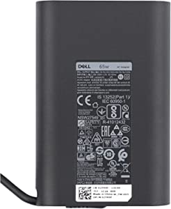 Dell Laptop Charger 65W Watt USB Type C AC Power Adapter Include Power Cord for Dell XPS 12 9250,XPS 13 9350 9360 9365 9370 9380, LA65NM170 HA65NM170,02YK0F 0M1WCF