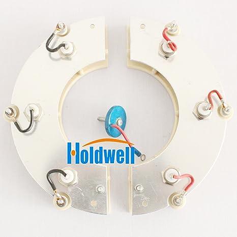 Holdwell rectificado rueda rsk6001 correcto de la rueda para generador