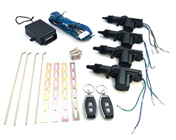 Kit de cierre centralizado universal para coche, para 4 ...