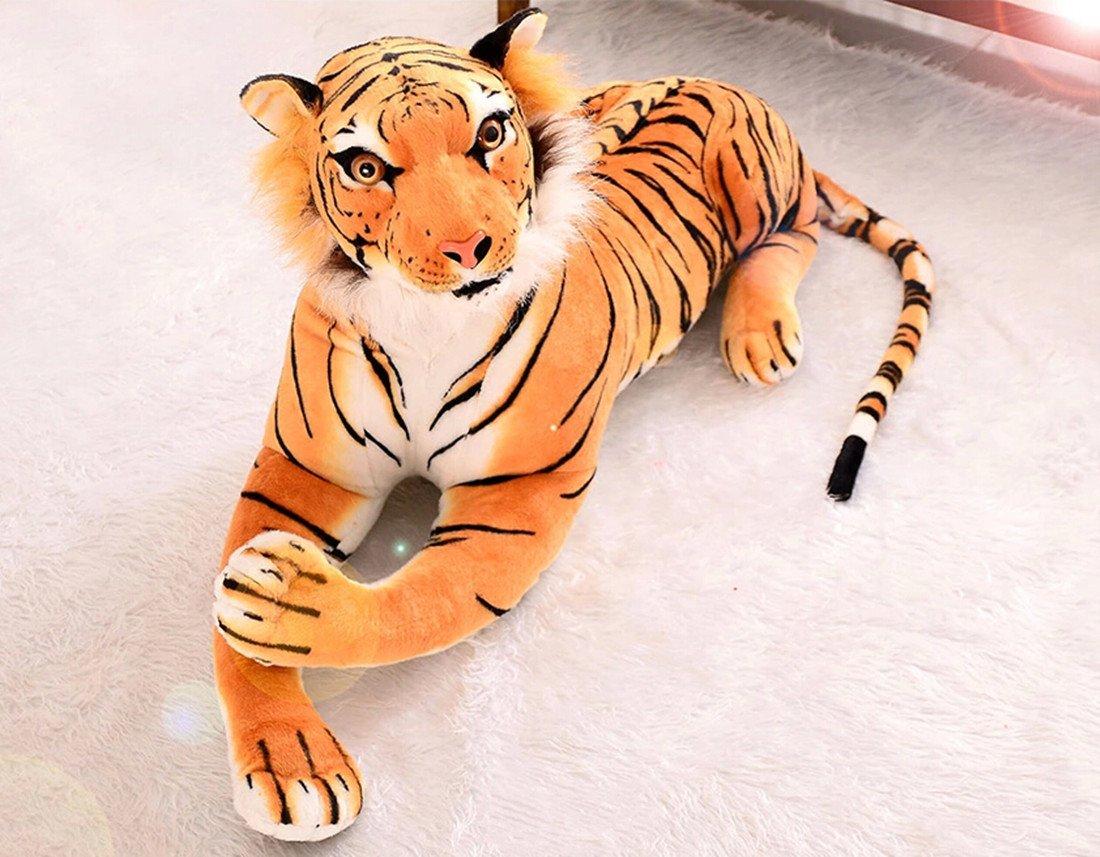 リアルすぎて怖い虎のぬいぐるみ