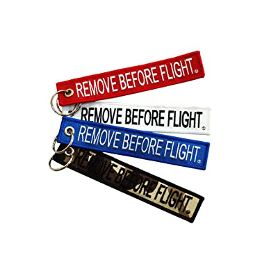 """Apex Imports 4X Remove Before Flight America Patriot Multi-Pack Combo Key Chain 5.5"""" x 1"""" Motorcycle ATV Car Truck Keychain: Automotive"""