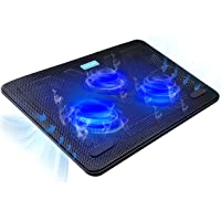 Tecknet Portable Slim Quiet USB Powered Laptop Cooling Pad