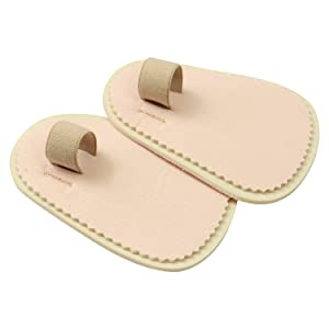 ViveSole Toe Splint [Pair] - Hammer Toe Straightener - Joint Realign Cushion Brace for Claw, Curled, Crooked Toe - Metatarsal Support Loop Guard Alignment Corrector Wrap for Tendon, Broken Toe Surgery