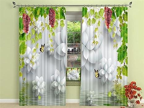 Tende A Fiori Per Camera Da Letto : Xfkl tende per la cameretta calla fiori d stampa tende oscuranti