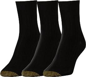 c44561b117b Gold Toe Women s Non-Binding Salon Short Crew Socks