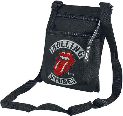 Rolling Stones 1978 Tour Mochila Bandolera Negro