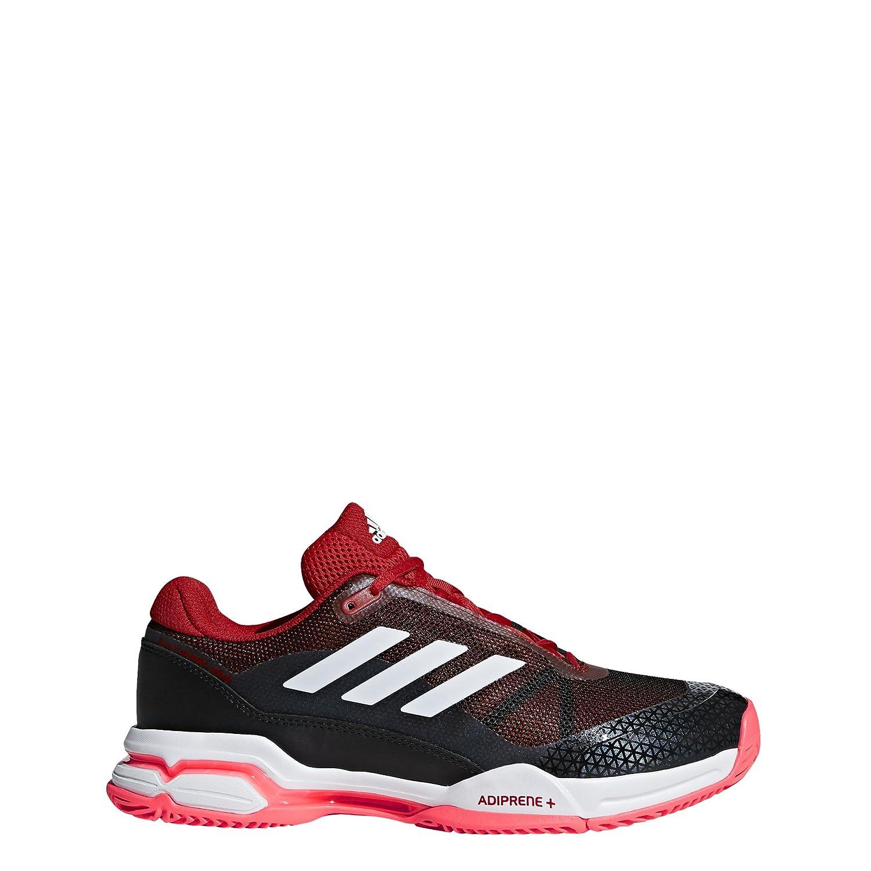 Scarlet Footwear White Core Black Adidas Men's Barricade Club Tennis shoes White