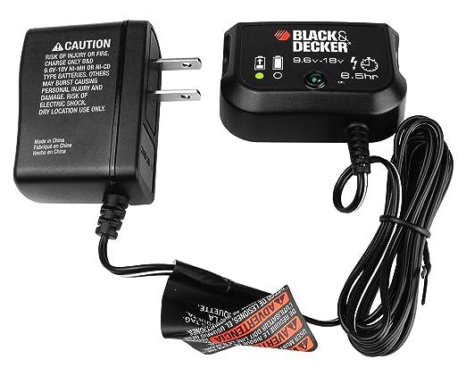 Black and Decker 90592360-01 cargador de batería 9.6v-18v ...
