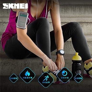 Lovewe SKMEI Reloj inteligente resistente – tiempo de espera ...