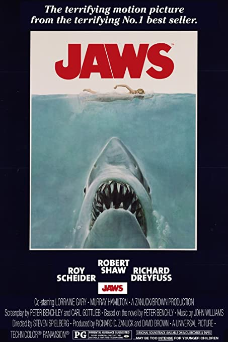 Image result for jaws movie poster amazon