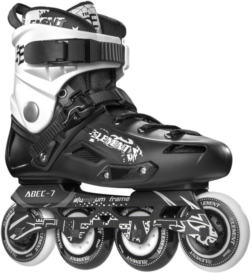 5th Element ST-80 Urban Inline Skates, Black and White