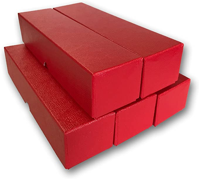 """100 Holder Included for Silver Eagle Red Storage Box for  2.5/"""" x 2.5/"""" Holders"""