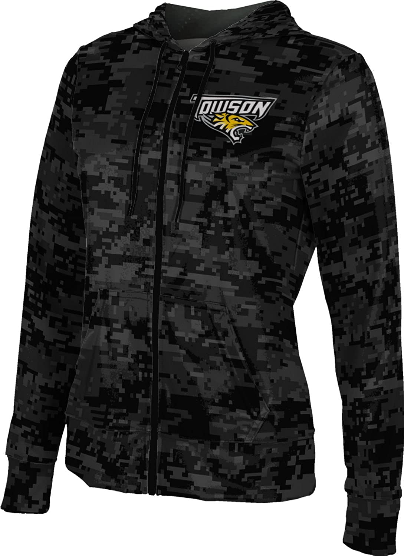 School Spirit Sweatshirt Digital ProSphere Towson University Girls Zipper Hoodie