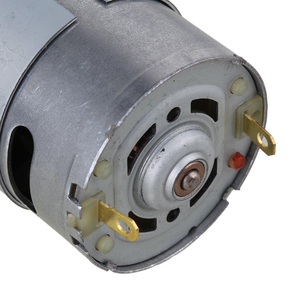 BQLZR 12V 66RPM Motore a velocit/¨/¤ ridotta a velocit/¨/¤ ridotta Motore quadrato motorizzato con motore a coppia elevata a bassa velocit/¨/¤ per attuatore automatico