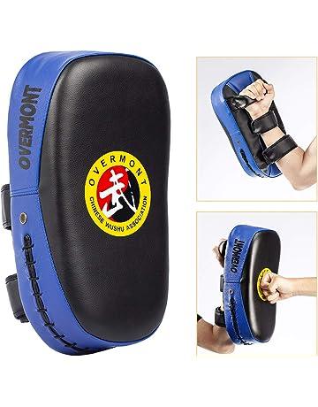 Overmont Pao de Cuero PU Saco de Boxeo Almohadilla de Choque Cojín Kick para Boxeo Taekwondo