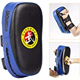 Overmont Taekwondo Kick Pad with Curved Punching Surface Karate Kicking Shield PU Leather for Boxing Martial Art…