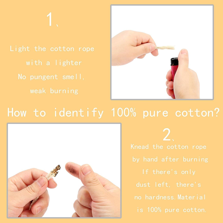 Blu Scuro, 5 ARTESTAR 22mx5mm-7mm DIY Handmade Craft Cotone Legando Filo Corda Filo per Maglieria Artigianale Cordone