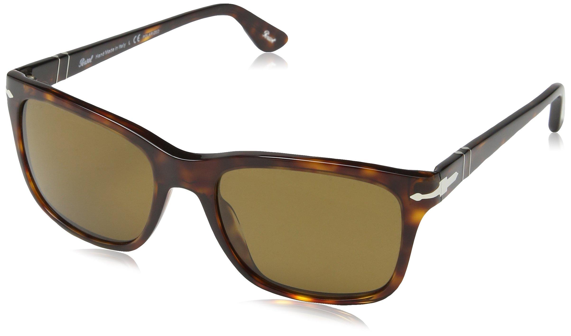 Persol PO3135S Sunglasses - 24/57 Havana (Brown Polarized Lens) - 55mm