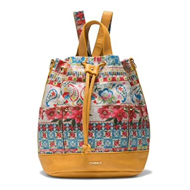 Desigual Little Malmo Fresh Sac A Dos Jaune Amazon Fr Chaussures