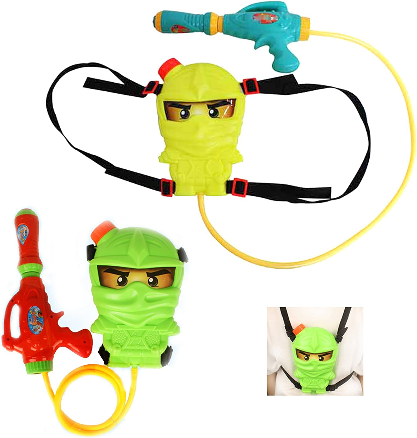 Amazon.com: Ninja Water Guns Ninjago Backpack Best Powerful ...