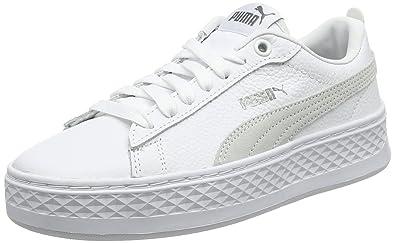 Puma Women s Smash Platform L Trainers  Amazon.co.uk  Shoes   Bags 84f2dd759