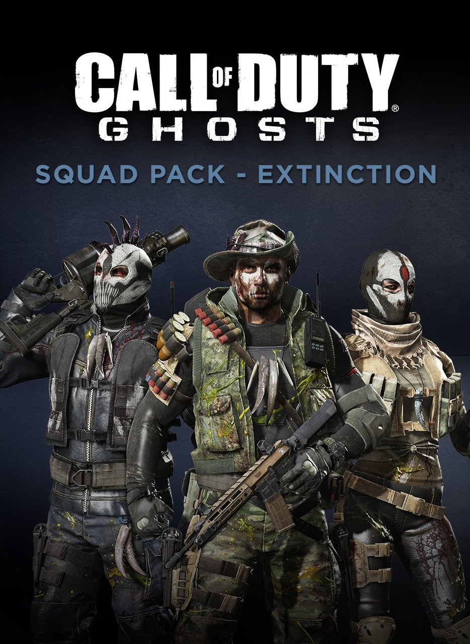 Amazon Com Call Of Duty Ghosts Squad Pack Extinction Online