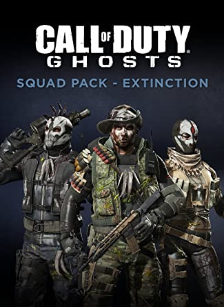 Call Of Duty Ghosts Squad Pack Extinction Online Game Code Video Games