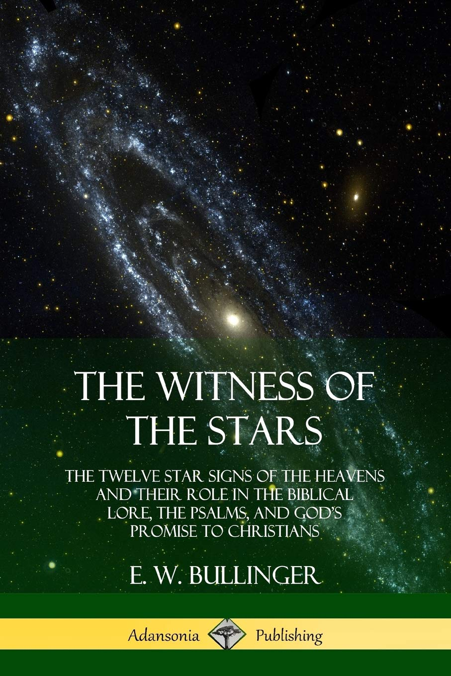 The Witness Of The Stars  The Twelve Star Signs Of The Heavens And Their Role In The Biblical Lore The Psalms And God's Promise To Christians