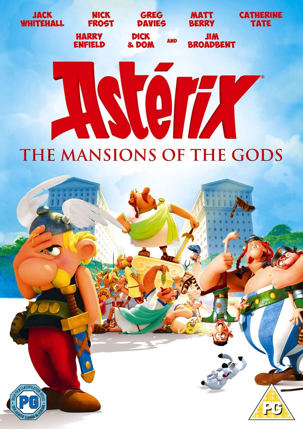 Asterix: The Mansions Of The G...