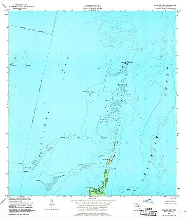 Amazon Com Yellowmaps Soldier Key Fl Topo Map 1 24000 Scale 7 5