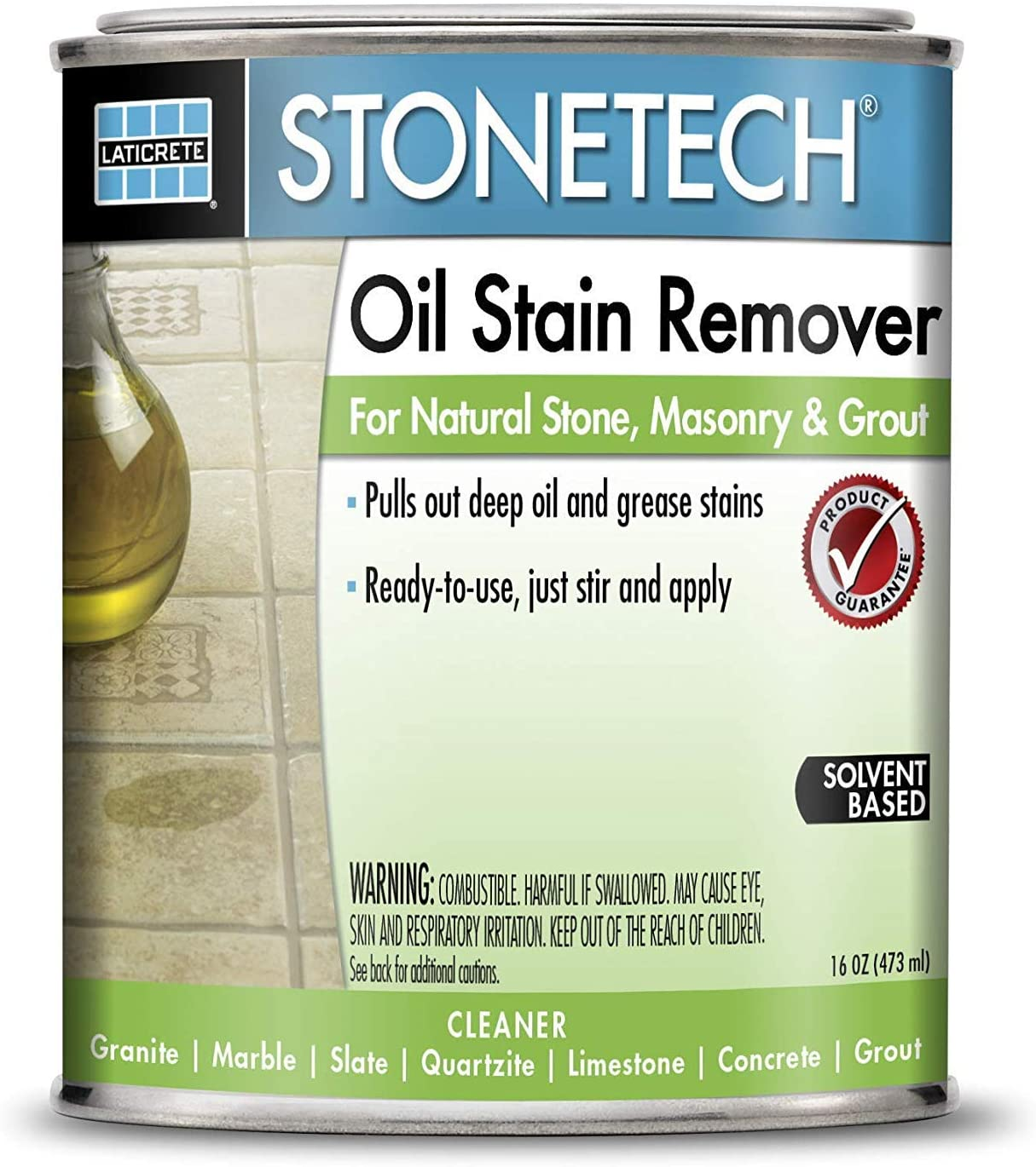 StoneTech EX6 – 16 1-pint aceite quitamanchas para piedra natural modelo: EX6 – 16: Amazon.es: Jardín