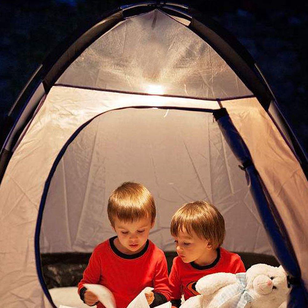 LED L/ámpara de Camping 10 Modos de Luz ELEPOWERSTAR 10400 mAh Powerbank Camping Lantern Antorcha y L/ámpara de Mano 10400 mAh IP54 Impermeable Camping Lantern