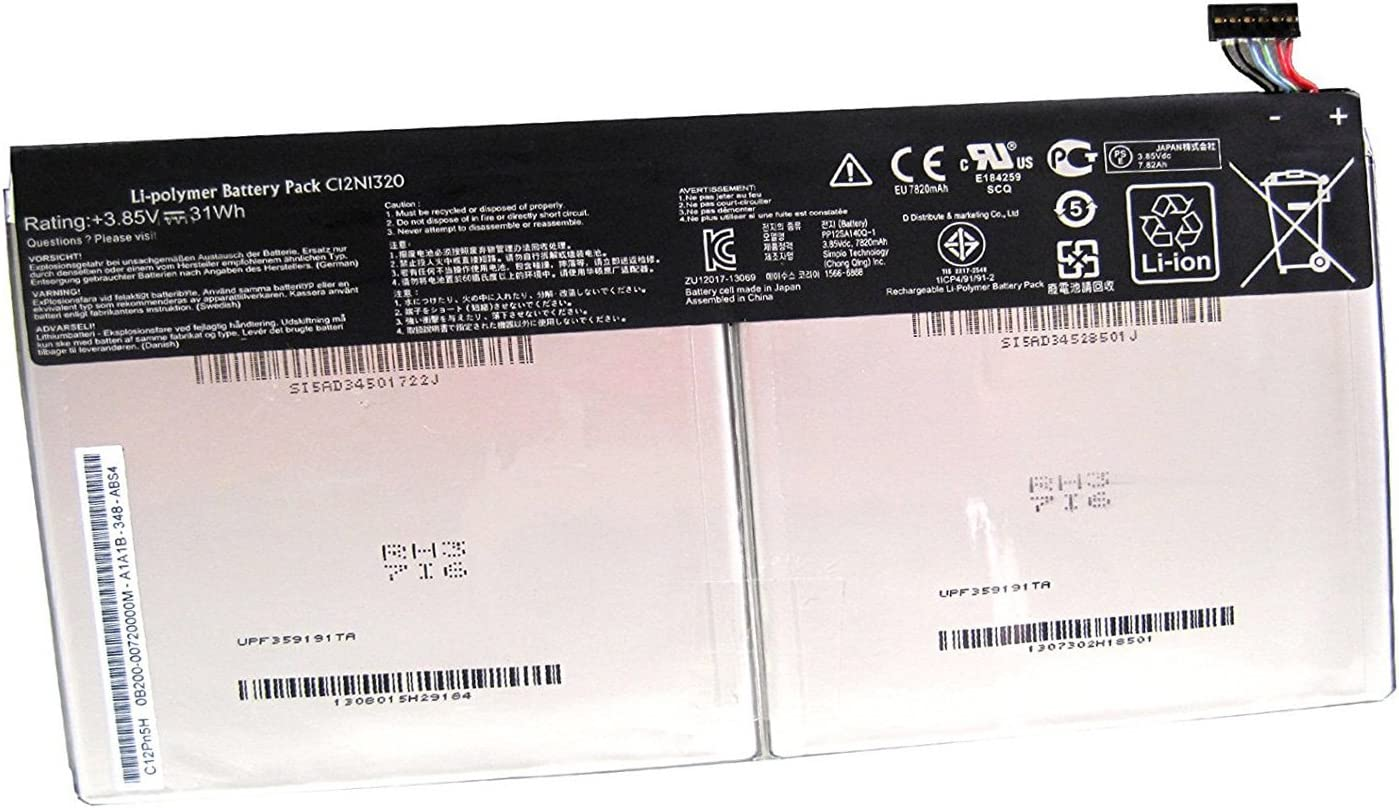 Dentsing C12N1320 Battery for ASUS Transformer Book T100T Tablet 0B200-00720300