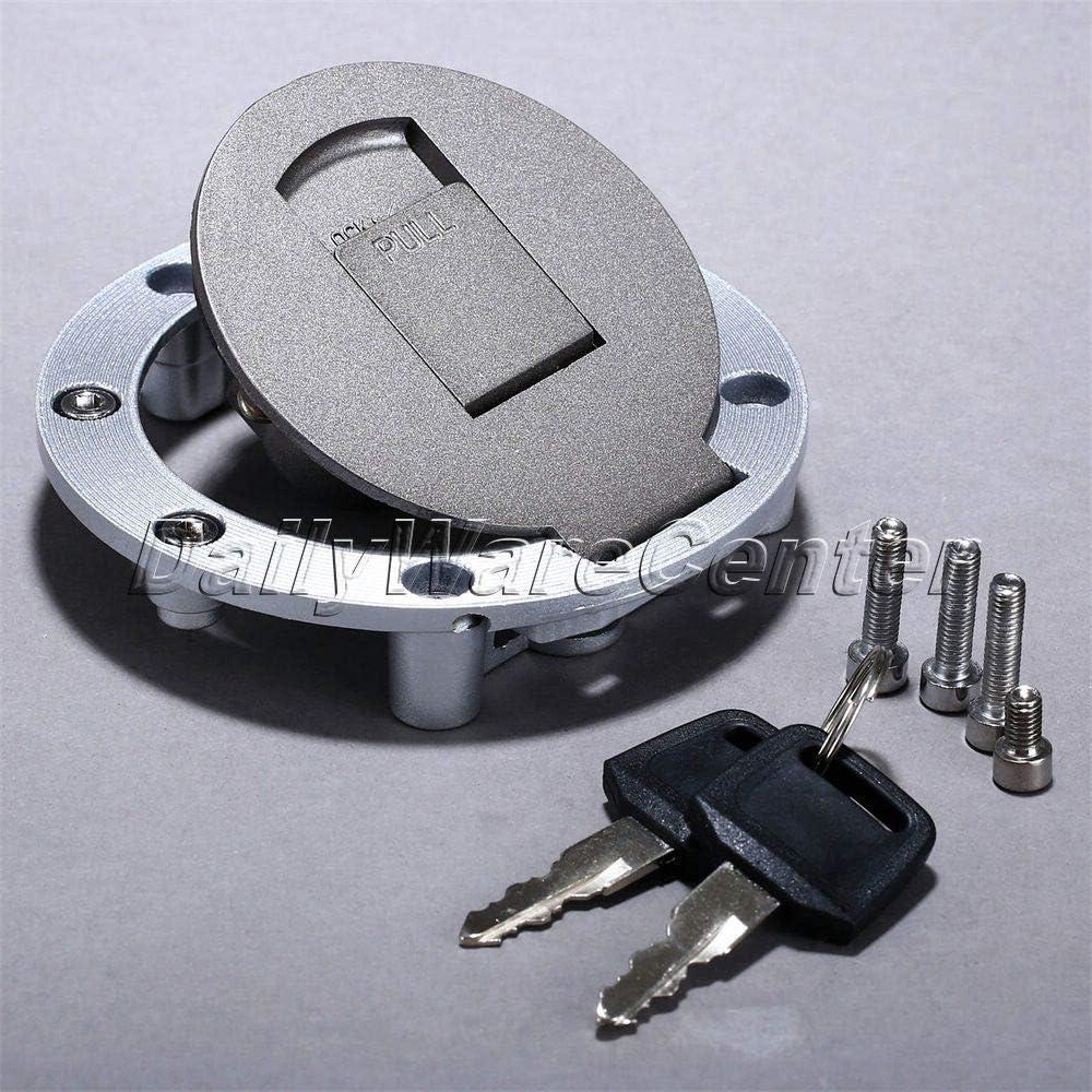 Transport-Accessories - Motorcycle Aluminum Fuel Tank Cap Gas Tank Cover Moto Rapid Locking+Key+Screw Bolts for Yamaha FZR250 400 FZR600 FZR750 FZR1000 71CU-Q56dmL