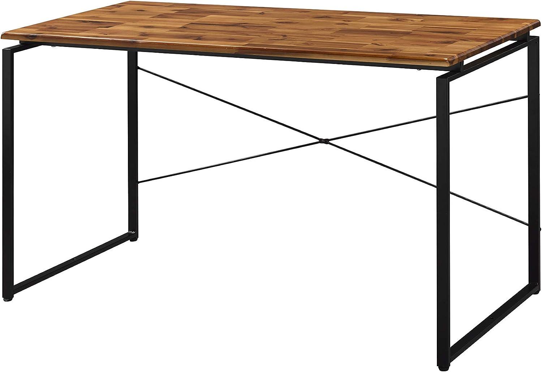 Acme Furniture Jurgen Desk, Oak & Black