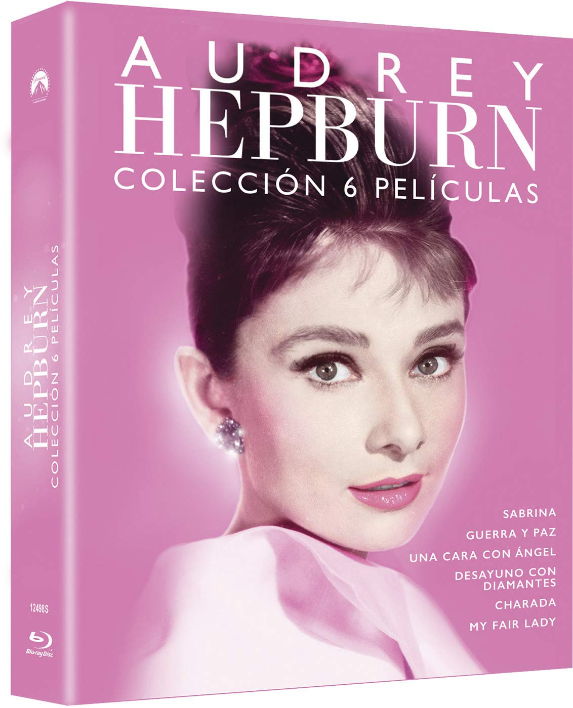 Pack Audrey Hepburn (BD - 6 discos) [Blu-ray]: Amazon.es: Audrey Hepburn, Humphrey Bogart, Fred Astaire, Cary Grant, Vv.Aa, Audrey Hepburn, Humphrey Bogart, Paramount Pictures, Universal Pictures: Cine y Series TV