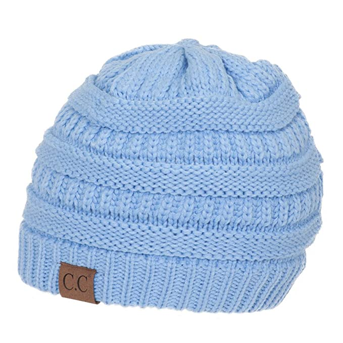dcb9ddf9347 Thick Slouchy Knit Oversized Beanie Cap Hat
