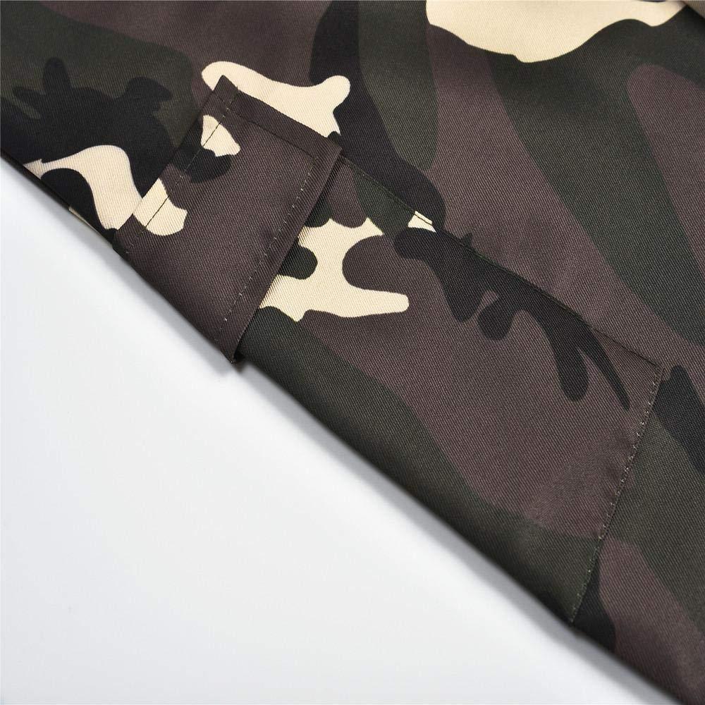 Pantaloni Camouflage da Donna Camo Jogging Casual Hip Hop Rock-Donne Alta Vita Yoga Leggings Fitness in Esecuzione Palestra Stretch Sport Pantaloni-Athletic Pantalone