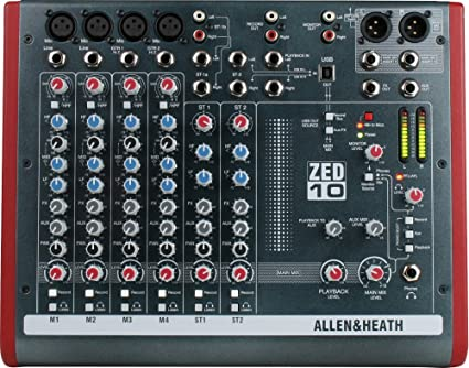 ALLEN & HEATH ZED 10 USB DRIVER FOR PC