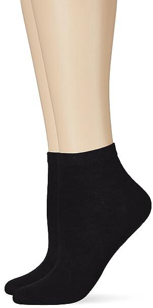 4 Pairs of Tommy Hilfiger Sneaker Basic Ankle Socks Black UK Size 2.5-5