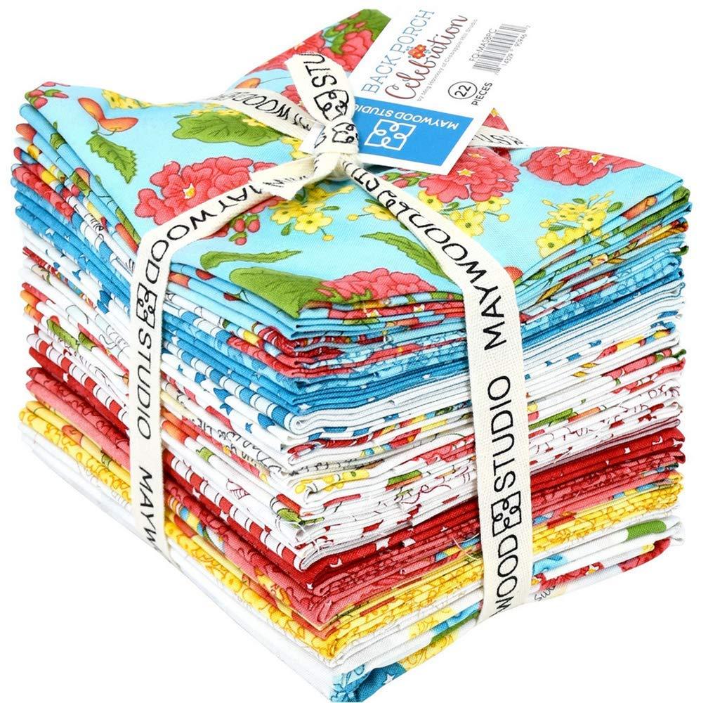 Back Porch Celebration 22 Fat Quarter Bundle by Meg Hawkey for Maywood Studio