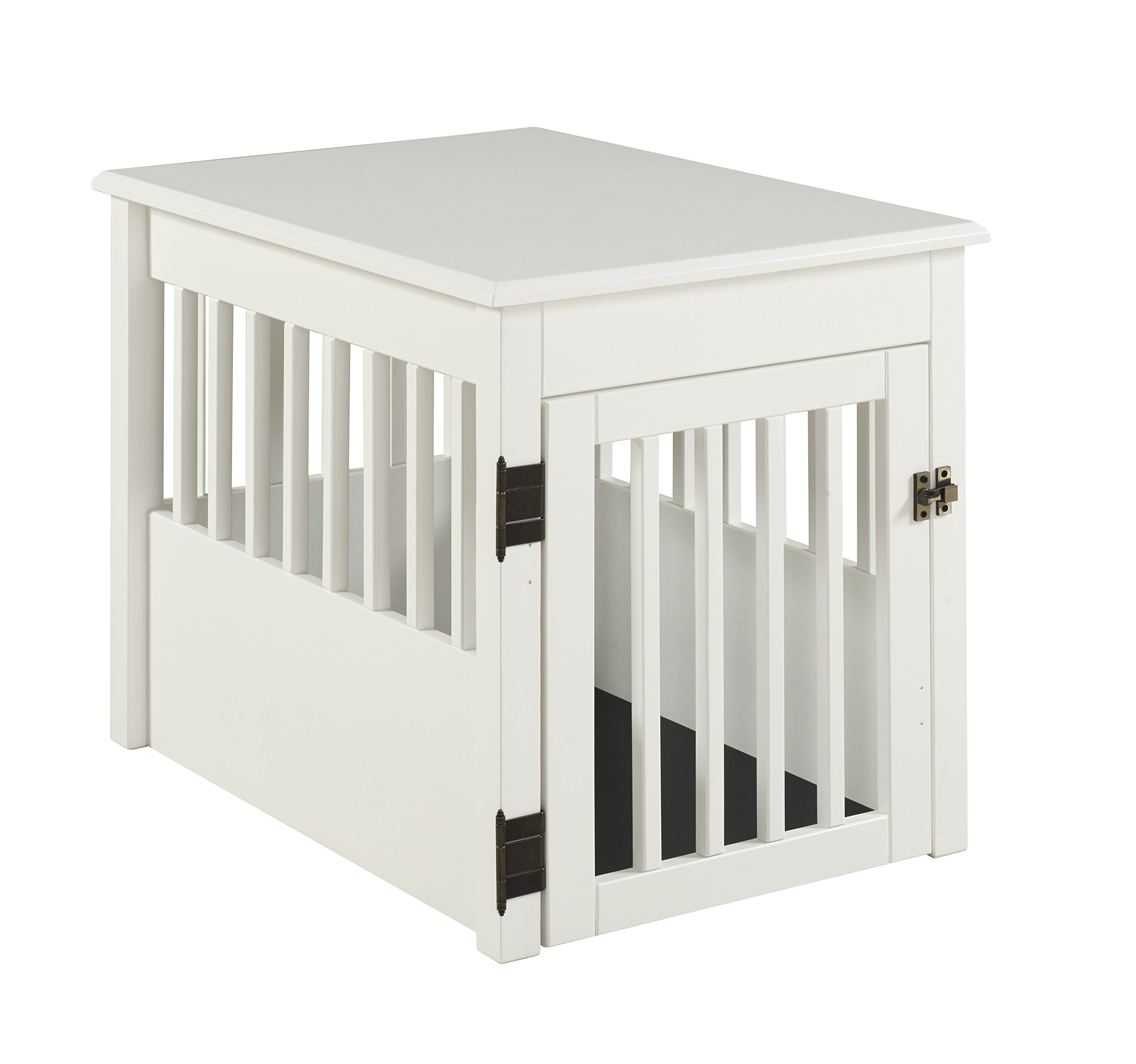 BarkWood Pet Crate End Table - White Finish by BarkWood Pets